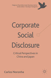 Corporate Social Disclosure by C. Noronha