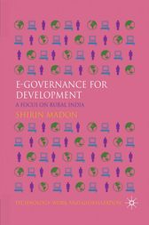 e-Governance for Development by S. Madon