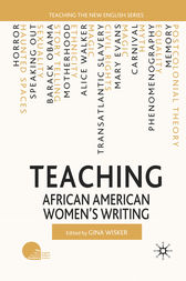 Teaching African American Women's Writing by G. Wisker