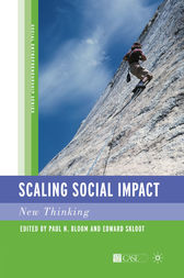 Scaling Social Impact by P. Bloom