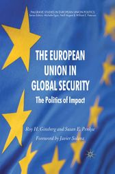The European Union in Global Security by R. Ginsberg