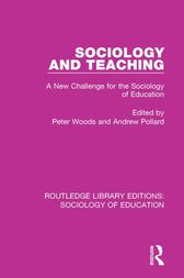 Sociology and Teaching: A New Challenge for the Sociology of Education
