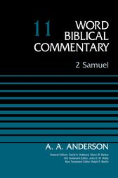2 Samuel, Volume 11 by Arnold A. Anderson