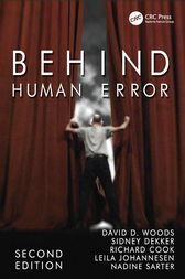 Behind Human Error by David D. Woods