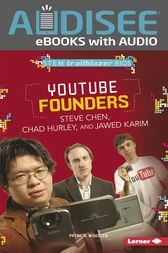 YouTube Founders Steve Chen, Chad Hurley, and Jawed Karim by Patricia Wooster