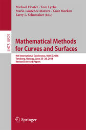 Mathematical Methods for Curves and Surfaces by Michael Floater