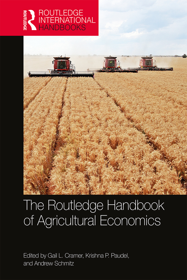 Download Ebook The Routledge Handbook of Agricultural Economics by Gail L. Cramer Pdf