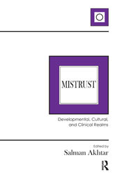 Mistrust: Developmental, Cultural, and Clinical Realms